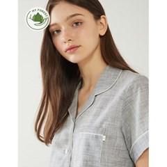 여성반팔잠옷 홈웨어 시그널 반소매 페어 3146(여성)