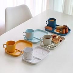 어반 스튜디오 피크닉 식판+컵 세트 5color / 캠핑식기 다이어트식판