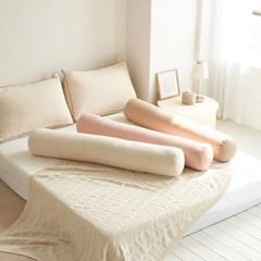 국내산 일자형 바디필로우 가드 침대 수면 긴베개 배게_(1442311)