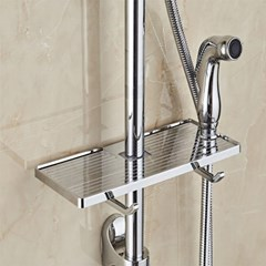 예홈 자투리 공간활용 샤워기둥 욕실선반