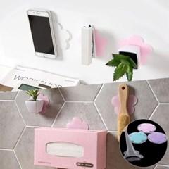 욕실 주방걸이 휴대폰 거치대 기능 벽후크