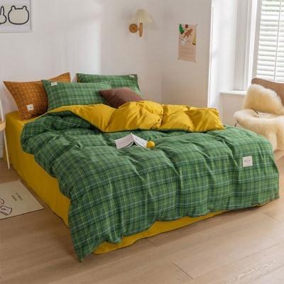 침구 매트리스 침대 베개 이불 매트 커버 세트 올라