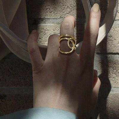 [silver 925] 프리사이즈 꼬임 엄지 검지 중지 손가락 은 반지