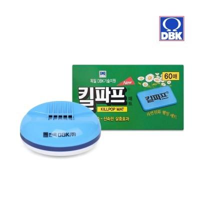 [킬파프]매트 코드롤러 전기훈증기+리필 60매_(2705236)