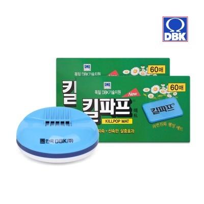 [킬파프]매트 코드롤러 전기훈증기+리필 120매_(2705235)