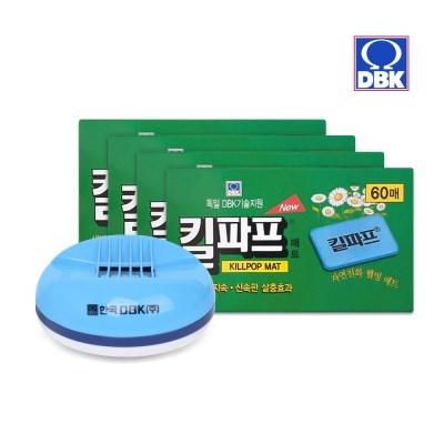 [킬파프]매트 코드롤러 전기훈증기+리필 240매_(2705234)