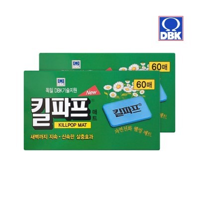 [킬파프]매트훈증기 리필 60매 2개_(2705232)
