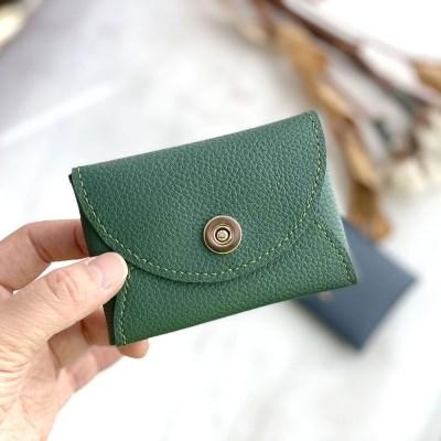 단 하나의 블루그린 카드지갑