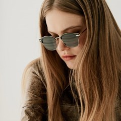 I.CAP_ Black/Gold Sunglasses 하금테 도수테 콤비 선글라스
