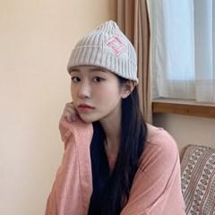 캐주얼 숏비니 봄 여름 가을 패브릭 면 포인트 니트 비니 남자 여자