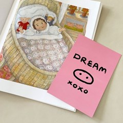 DREAM PIG! 돼지꿈 행운 태몽 럭키 인테리어엽서