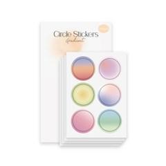 Circle 스티커 - Gradient