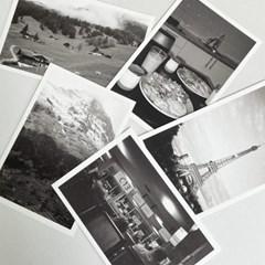 마치스가든 빈티지 필름 유럽 흑백엽서 세트