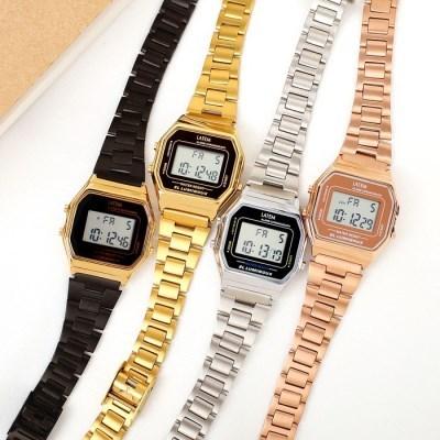 뉴트로 미니 디지털 시계 (AG2G9403DA/2colors)
