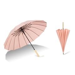 튼튼한 16k 일자형 곡선형 수동 고급 장우산