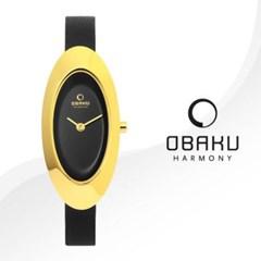 OBAKU 오바쿠 V156LGBRB 여성시계 메쉬밴드 손목시계