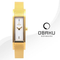 OBAKU 오바쿠 V159LXGIMG 여성시계 메쉬밴드 손목시계