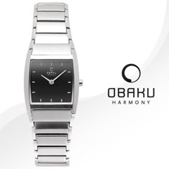 OBAKU 오바쿠 V142LCBSC 여성시계 메탈밴드 손목시계