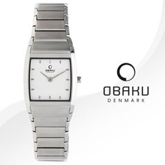 OBAKU 오바쿠 V142LCISC 여성시계 메탈밴드 손목시계