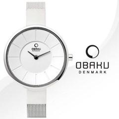 OBAKU 오바쿠 V149LCIMC 여성시계 메탈밴드 손목시계