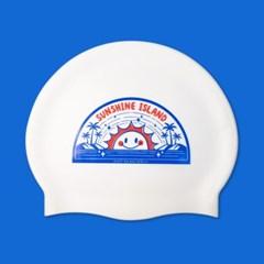 [스위밍댄스] 선샤인아일랜드 실리콘 수영모자