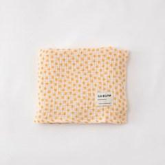 Balloon Gauze Blanket_Yellow