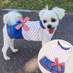 해지도트원피스 강아지티셔츠 애견옷 강아지옷