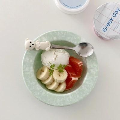 로맨틱마블 딥플레이트 (2color 요거트볼 씨리얼 다이어트식단)