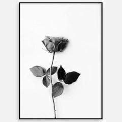 북유럽 거실 인테리어 액자 꽃그림 장미