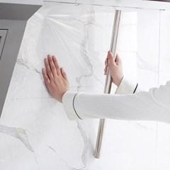 주방 싱크대 렌지 주변 벽면 매직투명 접착시트지