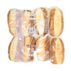 [삼립]고소한 7호 번스 8입 4봉(총 32입)/햄버거빵/핫도_(2707681)