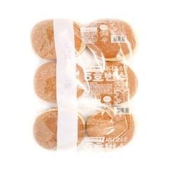 [삼립]고소한 5호 번스 6입 4봉(총 24입)/햄버거빵/핫도_(2707680)