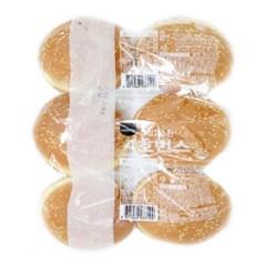 [삼립]고소한 4호 번스 6입 6봉(총 36입)/햄버거빵/핫도_(2707679)