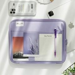 PLANA 클리어 포켓 아이패드 태블릿 PC 파우치 11인치 프로
