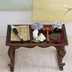 전통 돌잡이 8종 세트 (소반 포함)