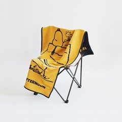 [Peanuts] 스누피 캠핑 미니 러그