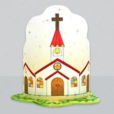 마미아트M-교회 성당 십자가 조명등(전등갓)