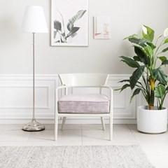 [퍼니프랑] 수입 유럽형 빈티지 엔틱가구 RG 31 심플 1인 미색 의자