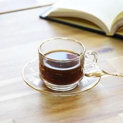 부라노 리얼골드 1인 커피잔세트 2Pcs