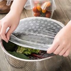 국산 실리콘 에코랩 다용도 주방 음식 덮개 커버 3size
