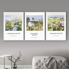 퍼니즈 그랜마B 포스터 1+1+1 3장세트 (A3사이즈) /명화 작품