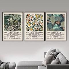 퍼니즈 모리스A 포스터 1+1+1 3장세트 (A3사이즈) /명화 작품
