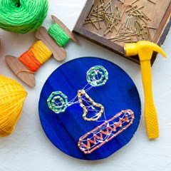 스트링아트 키트(String Art Kit) / 불완전한 하모니 / 엄기성 작가