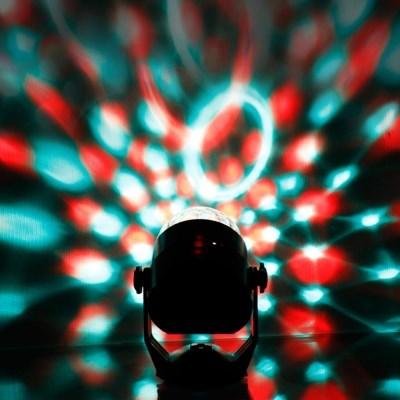 [반짝조명] LED 휴대용 파티 미러볼