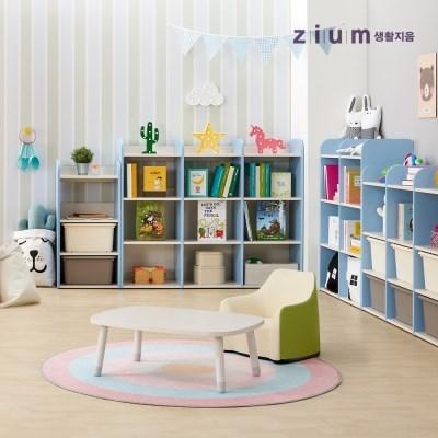 생활지음 미오 사각 유아동 키즈 테이블 책상 3컬러 (높이고정형)