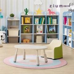 생활지음 미오 완두콩 유아동 키즈 테이블 책상 3컬러 (높이조절형)