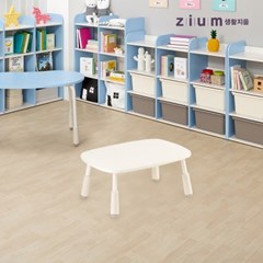 생활지음 미오 사각 유아동 키즈 테이블 책상 3컬러 (높이조절형)