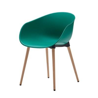 생활지음 루미 4LEGS 인테리어 의자 트로피컬그린(TG)