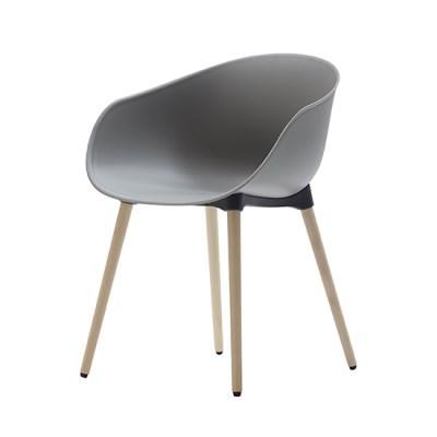 생활지음 루미 4LEGS 인테리어 의자 어반그레이(UG)