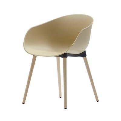 생활지음 루미 4LEGS 인테리어 의자 라떼(LT)